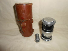 Canon 100mm f3.5 Lens for Leica L39  Rangefinder w/ Case