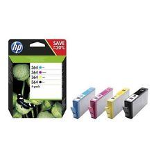 HP Original Patronen Set Nr. 364 SD534EE - NEU schwarz, gelb, cyan, magenta