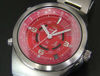 Seiko SUS Multi Function Alarm Chronograph Quartz Mens Watch 6M26 uhr reloj