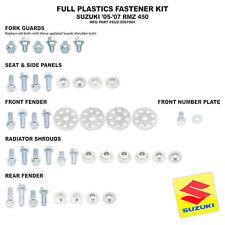 Bolt Full Plastics Fastener Kit Suzuki RMZ 450 RMZ450 05 06 07 NEW