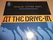 "At The Drive In - Invalid Litter Dept [Grand Royal] (7"" Single Ex. Yellow Vinyl)"