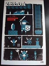 Zelda NES poster print