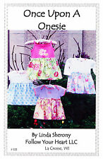 ONCE UPON A ONE ZEE~Convert a One Piece T-shirt into a Dress~For sizes 3-18 mos