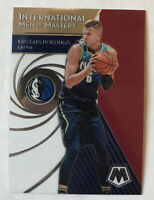 2019-20 PANINI MOSAIC INTERNATIONAL MAN OF MASTERY  KRISTAPS PORZINGIS #14