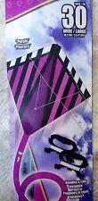 "X-Kites StuntDiamond 30"" Magenta Dual Control Kite - New!"