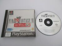 FINAL FANTASY VI (6) - SONY PLAYSTATION - Jeu PS1 PAL Fr