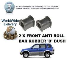 FOR SUZUKI GRAND VITARA 2.0 HDi + GV2000 1998-2005 2X FRONT ANTI ROLL BAR D BUSH