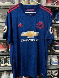 Adidas Manchester United Pogba Away Jersey / Shirt 2016-17 sz XL MINT