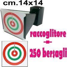 porta bersagli cartoncini bersaglio per tiro precisione cal 4,5- 5,5 soft air