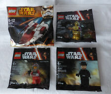 LEGO® Star Wars 30272 A-Wing + 5002948 C-3PO + 5004408 + 5004406 im Polybag