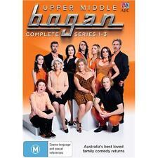 Upper Middle Bogan Series Complete Seasons 1-3 1 2 3 New DVD OZ Set Region 4 R4