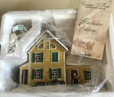 CURRIER & IVES MUSEUM OF THE CITY OF NEW YORK AMERICAN HOMESTEAD WINTER HOUSE!