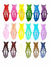 36 Pcs Cute Dolphin fish animal Hair Snap Clips Assorted 18 Colors size 50mm