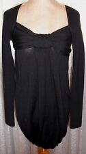 MOSCHINO CHEP AND CHIC beautiful 100% wool sweater/tunic with elegant bow M