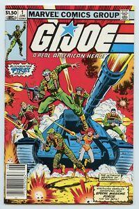 G.I. Joe - A Real American Hero #1 Marvel Comics 1982 VG/FN