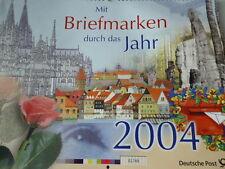 Briefmarkenkalender 2004 Deutsche Post Post Philatelie