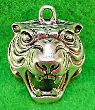 5Pcs. Tibetan Silver TIGER LION 31x25x13mm Charms Pendants Earring Drops AN132