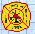 Fire Patch - La Porte City Iowa