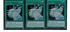 Yugioh Duelist Saga - 3 x lichtflügelschild dusa-de039, Ultra Rare, Mint German