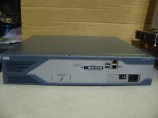 Cisco 2821 256D/64F Wic-1Dsu-T1-V2 Vwic-1Mft-T1 Wired Network Router Ios 12.4