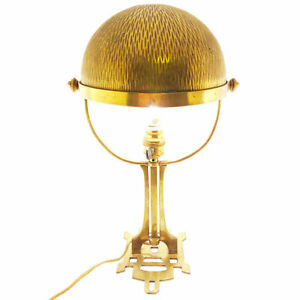 Antike Jugendstil Tischlampe Messing 1900 Art Nouveau table lamp 🌺🌺🌺🌺🌺