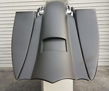 """7"""" Inch Stretched Extended Saddlebags And Rear Fender For Harley Touring FLH"""