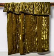 Opalhouse Tufted Velvet Stitch Boho Quilt  ~  Full / Queen ~  Moss Green
