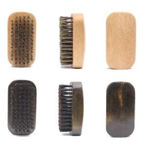 New Design-Wood handle boar bristle beard brushes beard care comb engrave logo