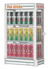 Electric can warmer display case 3tiers  made in Japan + English user's manual