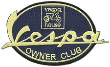 Patche écusson Vespa Owner Club thermocollant patch scooter brodé