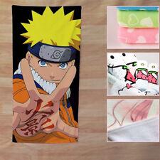 NEW Uzumaki Naruto Towel Microfiber Bath Shower Facecloth Washcloth