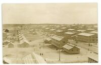 RPPC Aerial View CAMP DIX NJ Military WWI 1917 New Jersey Real Photo Postcard