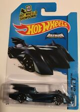 Hot Wheels 2015 Batman Brave and the Bold BATMOBILE Blue * Super Fast Ship * 1A