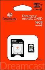 "Sega hard series microSDHC card + SD adapter set ""Dreamcast microSDHC card (16G"