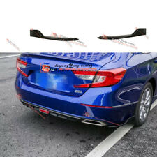 Rear Bumper Splitters Canard Wing Side Chin Aero Air Spoiler for Honda Accord 18