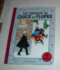 QUICK ET FLUPKE SERIE 4 SOUS CELLO RE Hergé (auteur Tintin )