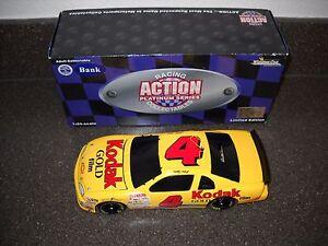 NEW Action Sterling Marlin #4 Kodak Monte Carlo Bank 1:24 Diecast NIB Car #1