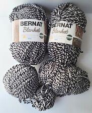 New listing Bernat Blanket Yarn: 5 Balls, Super Bulky, Inkwell