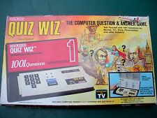 Coleco Quiz Wiz, The Computer Question & Answer Game in o/Box