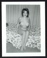 Honey Bee Keller 1950 Incredible Natural Breasts Big Huge Nipples Boobs Q2777