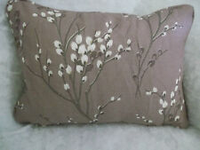 """Pussy Willow by Laura Ashley 1 Pair of 18"""" Cushion Covers - Double Sided Zip off"""