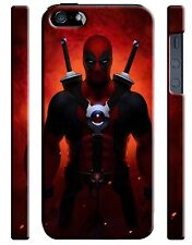 Iphone 4 4s 5 6 6S 7 8 X XS Max XR 11 Pro Plus Hard Case Deadpool Hero Comics 7