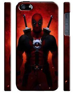 Iphone 4s 5 6 6S 7 8 X XS Max XR 11 12 Pro Plus Hard Case Deadpool Hero Comics 7