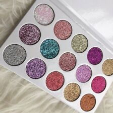 Unicorn Glitter  Palette 15 Colors Pigmented Eyeshadow Highlighter Make Up
