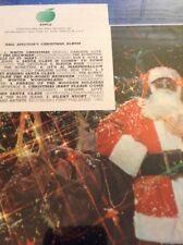 PHIL SPECTOR'S CHRISTMAS LP ON BEATLES APPLE LABEL--RARE ALBUM-- FACTORY SEALED