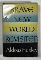 Brave New World Revisited by Aldous Huxley - 1958 Harper & Brothers Hardcover/DJ