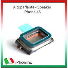 ALTOPARLANTE AURICOLARE RICAMBIO AUDIO CASSA SUPERIORE SPEAKER PER IPHONE 4 E 4S
