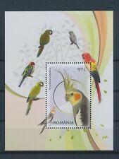 LM39256 Romania 2011 animals fauna flora birds good sheet MNH