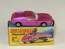 MATCHBOX SUPERFAST 05 LOTUS EUROPA, Metallic Pink Wide Wheels MINT in H1 Box
