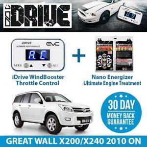 IDRIVE THROTTLE CONTROL FOR GREAT WALL X200/X240 2010 ON + NANO ENERGIZER AIO